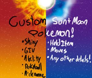Pokemon Sun Moon any Custom Pokemon Guide