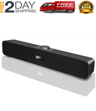 Wireless Wired Home Theater Sound Bar For Smart TV Roku Music Speaker 15