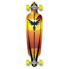 Yocaher Punked Drop Through Sunset Longboard Complete