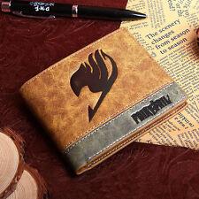 Mixed colors PU purse/wallet w/Japanese Anime Fairy tail magic association mark