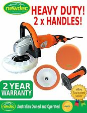 POLISHER CAR BUFFER AND ORANGE BUFF PAD SANDER ELECTRIC TOOL 1400W VARIABLE