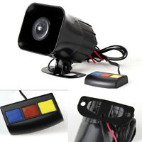 Waterproof 12V Loud Boat Car Truck 3-Tone Horn Siren 105db 30W 3 Buttons Control