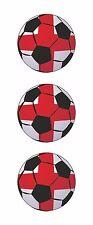 3x angleterre soccer foot ball stickers porte ordinateur portable tablette pc locker chapeau dur voiture
