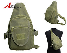 Molle Tactical Utility Shoulder Backpack Military Outdoor Camping Bag Olive Drab