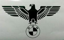 BMW German eagle logo sticker window bumper