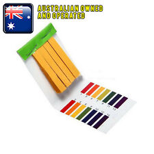 New 80 Litmus Testing Kit Strips Full Range pH 1-14 Kitchen