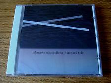 CD Album: Johannes Schmoelling : Time And Tide : Sealed Loom Tangerine Dream
