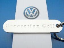 + VW GOLF Generation Schlüsselanhänger, ORIGINAL      Volkswagen NEU
