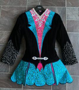 Irish Dancing Dress Worn By U11 Dancer
