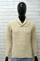 Maglione Pullover Felpa Uomo ZARA MAN Taglia M Slim Sweater Man Maglia Cardigan