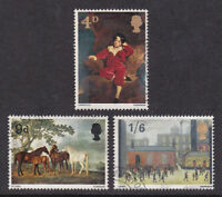 GB 1967 Commemorative Stamps~Paintings~Very Fine Used~ Set~UK Seller
