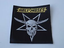 HOLY MOSES EMBROIDERED PATCH