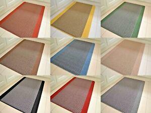 Large Rubber Back Mats Long Kitchen Washable Non-Slip Hard Wearing Small Rugs UK