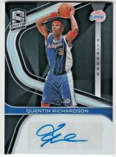 Quentin Richardson L.A. Clippers 2019-20 Panini Spectra NBA Signatures AUTO /149