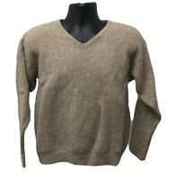 Tommy Hilfiger Alpaca / Wool Sweater Size XL Beige V-Neck