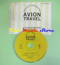 CD singolo Avion Travel  L'Atleta Ritrovato PROMO RADIO no mc vhs dvd(S18)