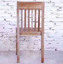 Stühle im Kolonialstil aus Teak