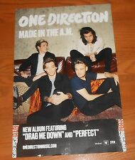 One Direction Made in the A.M. Poster Original Promo 17x11