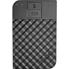 Verbatim store n go fingerprint secure hard disk esterno da 2,5 2 tb nero usb