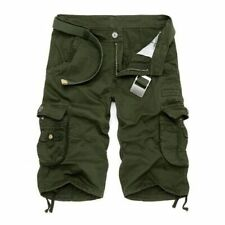 Mens Military Cargo Loose Shorts Army Camouflage Tactical Casual Pants Plus Size