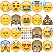 emoji T-shirt Transfer DIY Iron on Free Postage texting faces monkey iphone