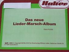 Das neue Lieder-Marsch-Album Hans Kolditz  Posaune 3 in b