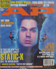 STATIC-X 2001 A.P. Magazine DAVE NAVARRO / DROWING POOL / HEDWIG / MINISTRY