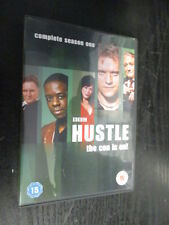 ***HUSTLE : COMPLETE SEASON ONE - DVD (2005) Series 1***  FREE P&P