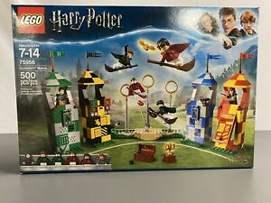 LEGO Harry Potter 75956 Quidditch Match NEW SEALED (500 Pieces)
