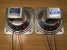 Pair of Jensen Special Design Alnico Tweeters P35-VAH Speakers Matching