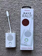 Pioneer Rayz Rally Lightning-Powered Conference Speaker -White XW-LTS5(MW)CU