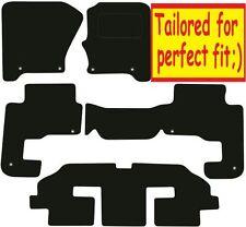 Land Rover Discovery 3 7 asientos a medida Alfombrillas De Coche ** ** Calidad De Lujo 2009 2008 2