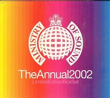 MInistry Of Sound The Annual 2002 Limited Edition box set VGC