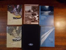 2003 Ford Escape Owner's Manual