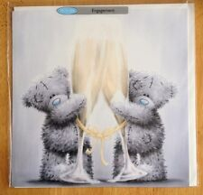 "'Engagement' Large Congratulations Card - Me to You - Tatty Bear - 7"" x 7"""