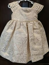 NWT Laura Ashley 2T Formal Pink And Gold Dress