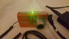 Polaroid Digital Camera t1031 10mp - Orange, charger, USB PC Cable, 2GB SD Card