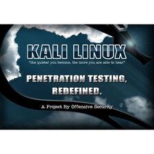Kali Linux 2.0 64 BIT DVD Advanced Network Security test hacking WIFI