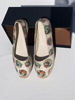 Burberry Canvas Flats Shoes