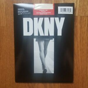 DKNY Silky Sheer Control Top Pantyhose In Porcelain  Medium Up To  6' & 175 Lbs.