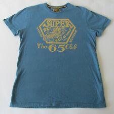 Superdry The 65 Club Wall Of Death Motorcross Men's Short Sleeve T-Shirt LG