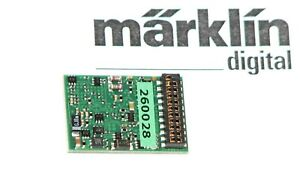 Märklin H0 260028 LokDecoder3 mLD3 mfx/MM1/MM2/DCC mit 21MTC-Schnittstelle - NEU
