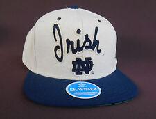 NOTRE DAME IRISH Basball Hat Cap ADIDAS Snapback OneSize BRAND NEW Free Shipping