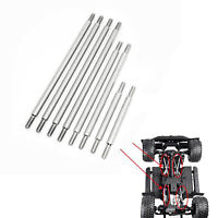 Stainless Steel Pull Rod 324 Radstand Chassis Link für 1/10 TRX-4 Defender Auto