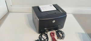 Dell 1710n Laser Printer + AC Mains Cable + USB Data Cable + Ethernet Cable