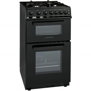 LPG *READY* 50cm CTG51LPGBK Gas Twin Cavity BLACK  Freestanding cooker Nordmende
