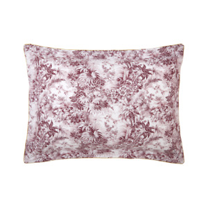 POUR TOUJOURS BY YVES DELORME FRANCE - ORGANIC COTTON PERCALE PILLOW SHAM