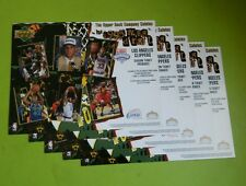 Lot of (5) 1995 UPPER DECK the NBA draft LOS ANGELES CLIPPERS LIMITED Print