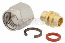 SMA male RF connector, Pasternack PE4007, for RG402 (.141) semirigid cable