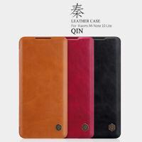 NILLKIN QIN Ultra-Thin Flip Leather Card Case Cover For Xiaomi Mi Note 10 Lite